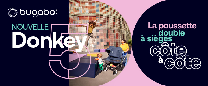 Marque Bugaboo Donkey 3 duo