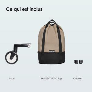 Babyzen - BZ10212-06 - Sac shopping YOYO bag Taupe (383558)