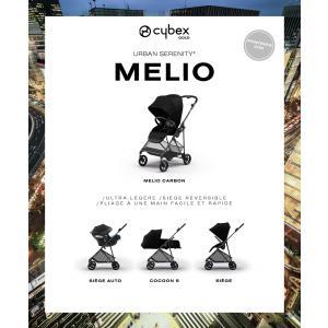 Cybex - 520003403 - Poussette MELIO CARBON Deep Black - black (419022)