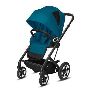 Cybex - 520001421 - Poussette TALOS S LUX noir River Blue - turquoise (419198)