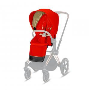 Cybex - 520000683 - Pack siège PRIAM Autumn Gold - burnt red (419480)
