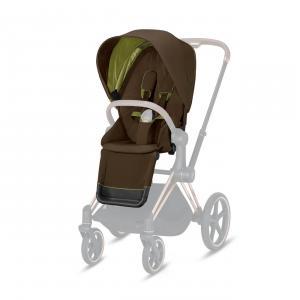 Cybex - 520000679 - Pack siège PRIAM Khaki Green - khaki brown (419484)