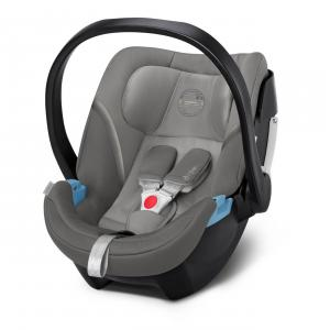 Cybex - 520000173 - Siège-auto bébé Cybex ATON 5 Soho Grey - mid grey (419492)