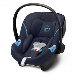 Cybex - 520000371 - Siège-auto bébé ATON M I-SIZE incl. SENSORSAFE Navy Blue - navy blue (419532)