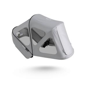 Bugaboo - 180322ME01 - Donkey capote à fenêtres Gris brume (423876)