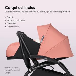Babyzen - BZ10110-11 - Pack YOYO 0+ nouveau-né 0+ Bleu Air France (450856)