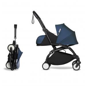 Babyzen - BU618 - Poussette YOYO² 0+ 6+ Bleu Air France - cadre noir (451288)
