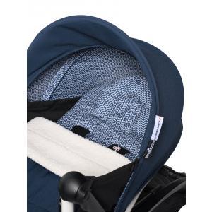 Babyzen - BU717 - Poussette YOYO² 0+ Bleu Air France, planche à roulettes - cadre blanc (451486)