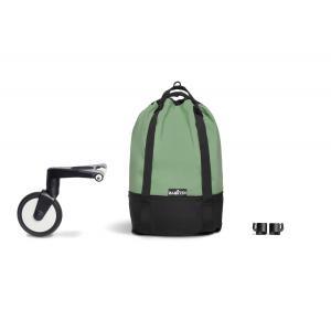 Babyzen - BU802 - Poussette YOYO² 0+ 6+ YOYO bag Peppermint - cadre noir (451602)