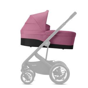 Cybex - BU466 - Poussette Talos S Lux avec nacelle cot S - Chrome Magnolia Pink - purple (456164)