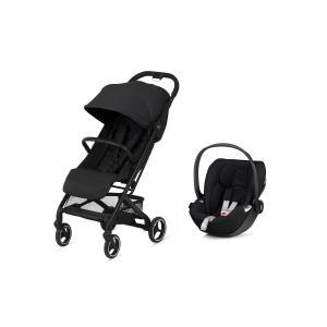 Cybex - BU504 - Poussette compacte Beezy et siège auto Cloud Z i-sizeDeep black (456240)