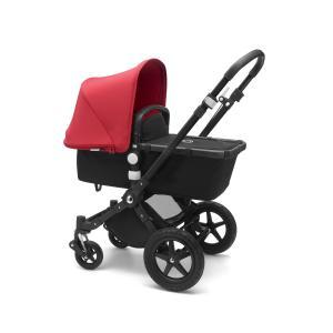 Bugaboo - 230162RD01 - Poussette Bugaboo Camelon 3+ complète noir-rouge (464532)