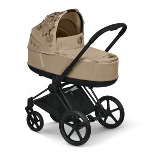 Cybex - 521001347 - Nacelle Priam SIMPLY FLOWERS beige (472340)