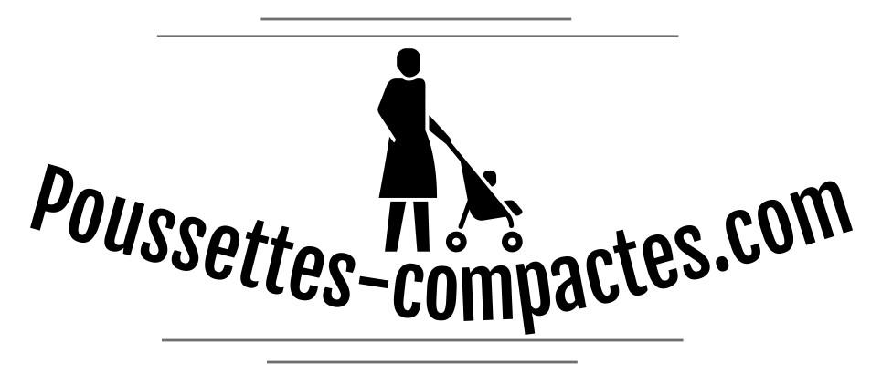 Poussettes compactes